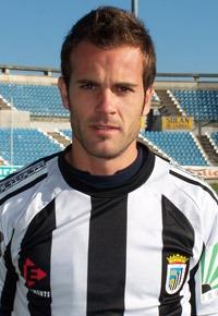 Foto oficial de Durán de la pagina web del Badajoz