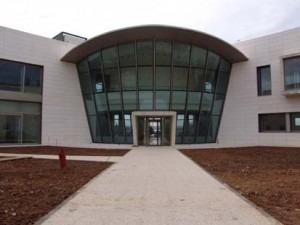 Imagen del edifico del Vicerrectorado del campus de Universidad en teruel