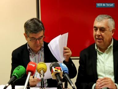 Guillén y Arrufat esta mañana en la Rueda de Prensa