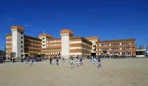 Una imagen del Colegio La Salle  de Teruel