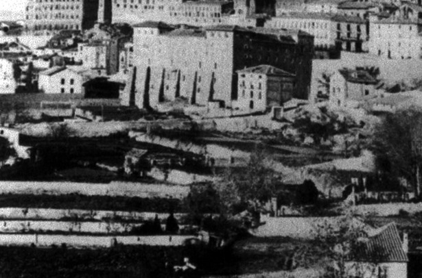 """En el denominado """"Huerto de la noria"""" comenzó en el año 1900 la construcción de la estación de tren de Teruel un día como hoy"""