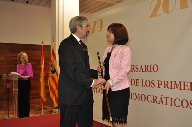 En la imagen, Lucia Gomez y Luis Fernández Uriel