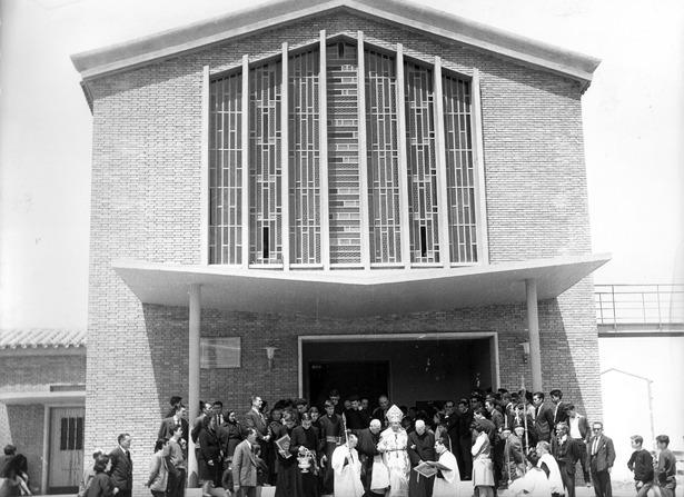 En 1968, un día como hoy, tuvo lugar la inauguración de la iglesia de San León Magno.