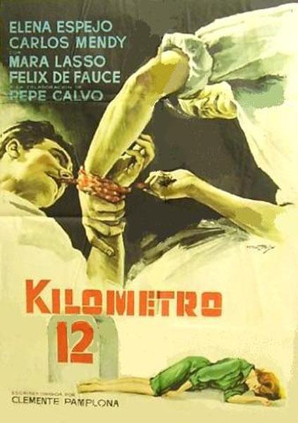 """En 1961, comenzaba el rodaje de la película """"Kilómetro 12"""", del director turolense Clemente Pamplona (Foto: enciclopediacineespa-fernando.blogspot.com)"""