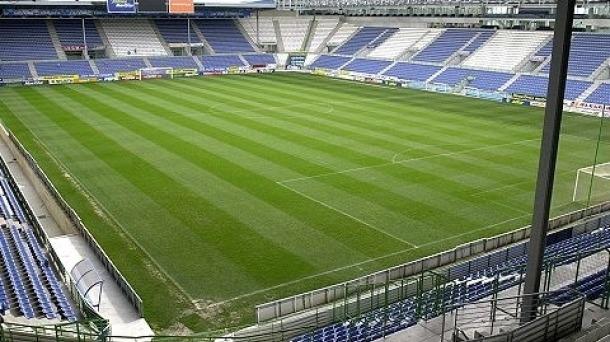 Una imagen del Estadio de Mendizorroza, donde jugara el CD Teruel el próximo domingo. Vuelev despues de poco mas de un año, ya que se enfrento en liga el año pasado al Alaves en el mes de Febrero
