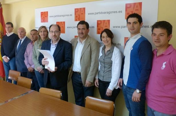 Una imagen de los miembros del Comité local del PAR