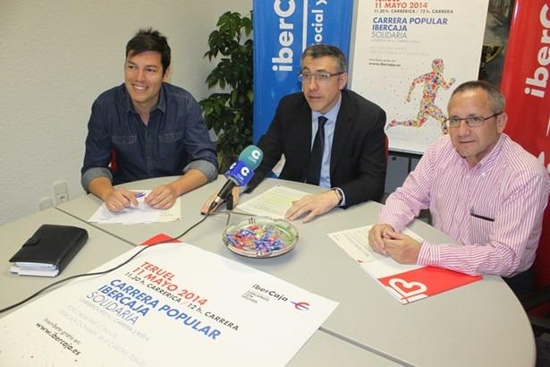 De izquierda a derecha, Javier Domingo, Bienvenido Sesé y Juan Marco