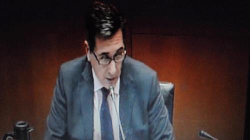 Una imagen de archivo del Consejero Ricardo Oliván