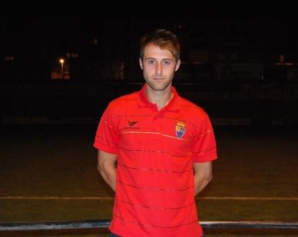Cristian Arcega, en una imagen de su paso anterior por el Teruel