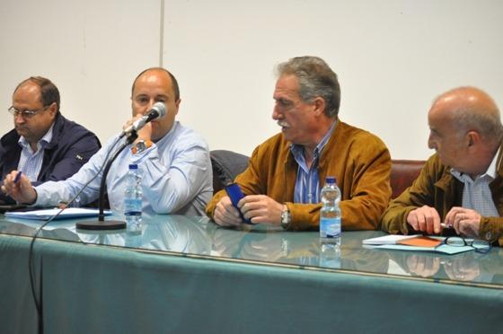 Imagen de archivo de una anterior asamblea de socios del Teruel