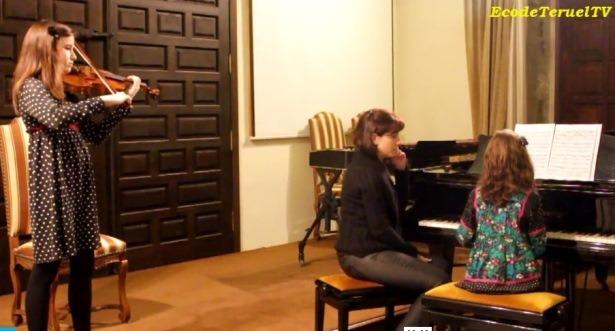 Imagen de archivo de un concierto de Primavera de l Conservatorio profesional de Musica de Teruel