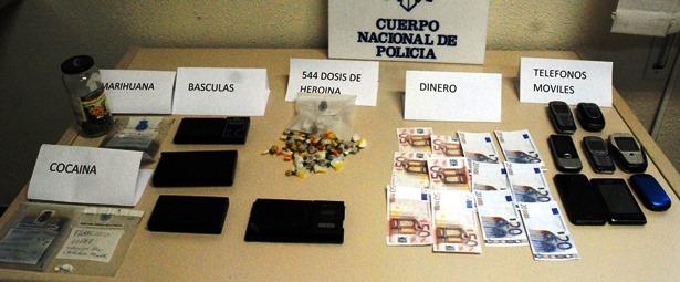Teruel droga