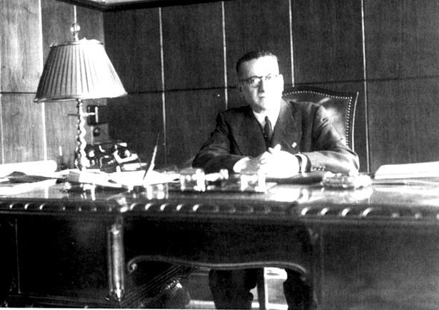 Manuel Pizarro Cenjor, que destacó por su lucha para erradicar el maquis, accedió al Gobierno Civil de Teruel hace 67 años.