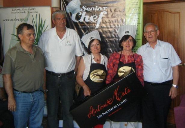 Imagen de las ganadoras del Jueves  en Rubielos de Mora