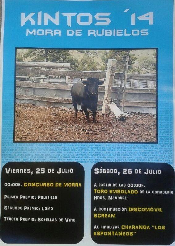 MORA DE RUBIELOS 25 Y 26 JULIO 2014