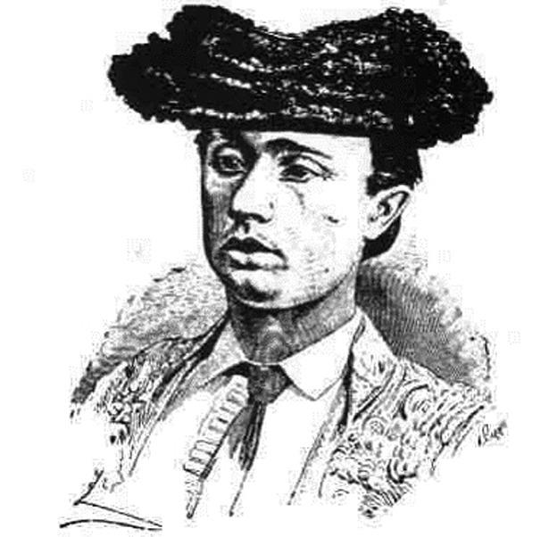 """El 15 de agosto de 1880 encontró la muerte en el ruedo el banderillero Nicolás Fuertes """"El Pollo"""", de Bañón."""