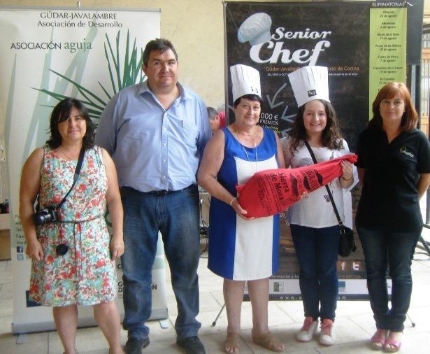 Ganadoras Mora Rubielos  Las Comediantas  Bacalao a la baturra