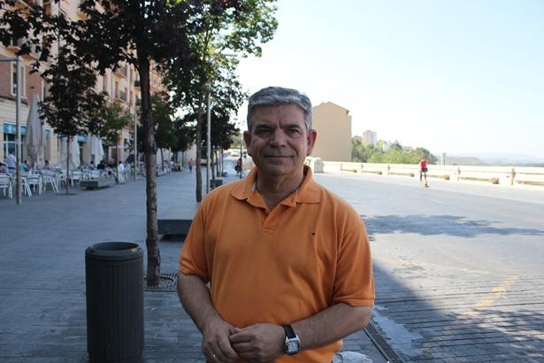 En la imagen, el Teniente de Alcalde José Miguel Hernando