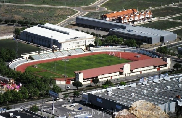 Una imagen del Estadio Sanchez Menor, donde jugara el CD Teruel el próximo día 3 de Septiembre