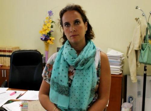 En la imagen, Adela Agudo, Delegada Provincial del INE y de la oficina del Censo