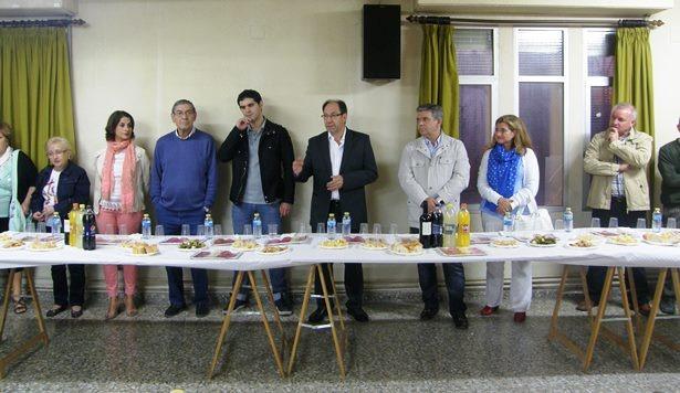 Una imagen del acto de ayer ,con Julio Esteban en pleno Pregón