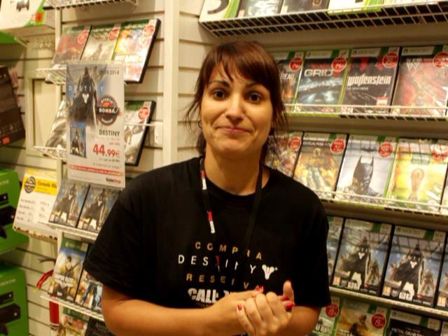 En la imagen, Eva Garzón, especialista en Videojuegos