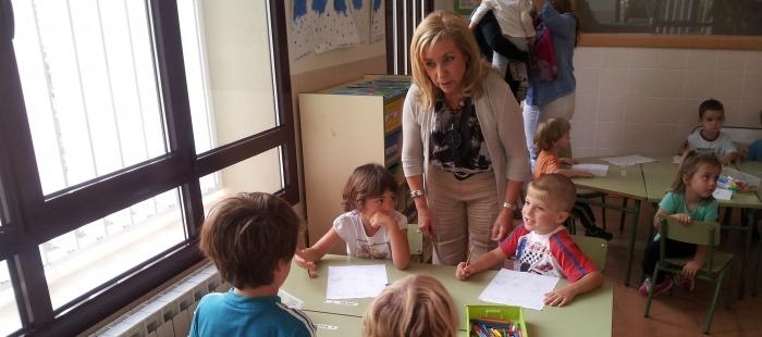 La Consejera, en el Colegio De Villaspesa