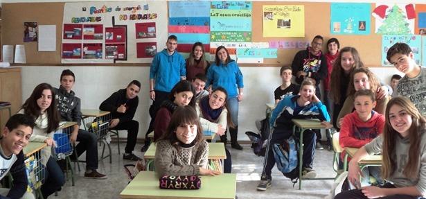 Los alumnos de las vi as conocen tu ocio alternativo - Colegio aparejadores teruel ...