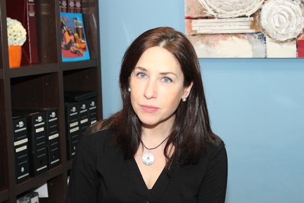 en la imagen, la economista y administradora de fincas, Marisa Polo
