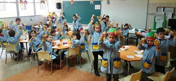 Almuerzo solidario en el colegio la salle eco de teruel - Colegio aparejadores teruel ...
