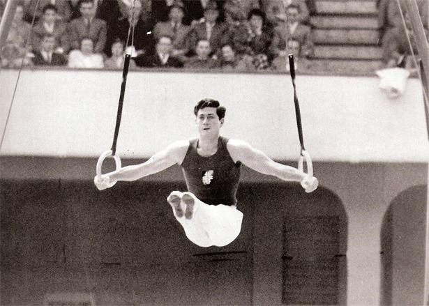 Joaquín Blume, sólida promesa del atletismo español, encontró la muerte en Cañete, junto al límite con la provincia de Teruel (Foto: www.gimnastas.es).