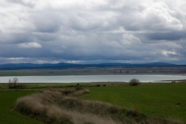 Los intentos de desecar la laguna de Gallocanta se remontan, al menos, al año 1858 (Foto: Wikipedia).