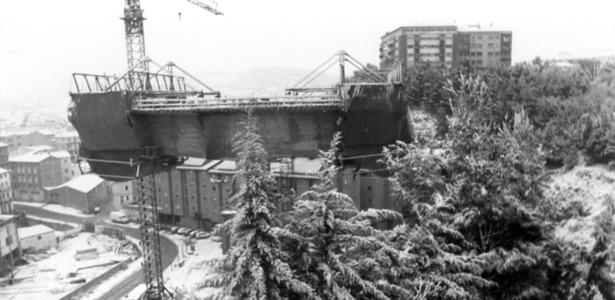 Tal día como hoy, en 1979, finalizaba el plazo de exposición del anteproyecto del viaducto nuevo (Foto: Fidel Cantín/Diario de Teruel).