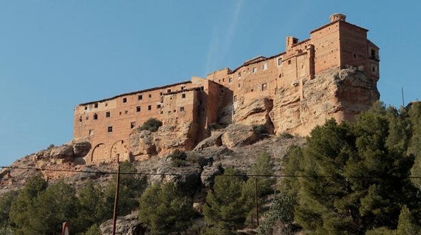 Santuario de la Virgen de los Arcos, en Albalate del Arzobispo, declarado monumento nacional en 1983 (Foto: www.digitalnatura.org)
