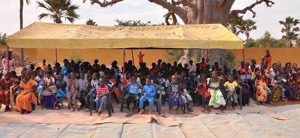 Inauguracion colegio Senegal 2