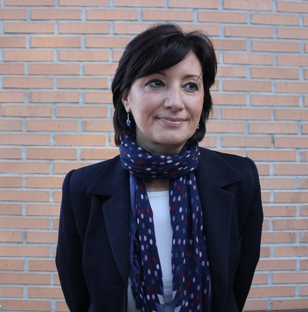 Rocío Casino, durante la entrevista