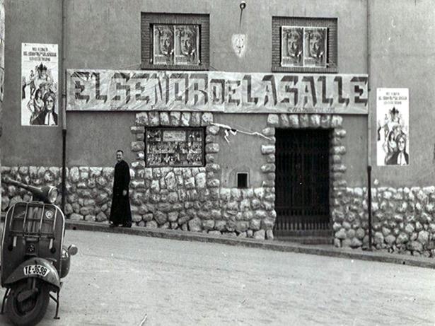 Los hermanos de La Salle, que llegaron en Teruel al hace 110 años, fueron los artífices del popular cine con el mismo nombre, hoy Sala Maravillas.