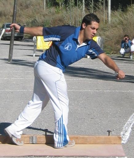 En la imagen, Alejandro Abril, que ascendio el domingo  a primera categoria