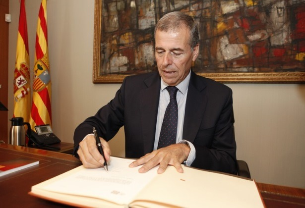 Antonio Cosculluela, Presidente de la Cortes de Aragón