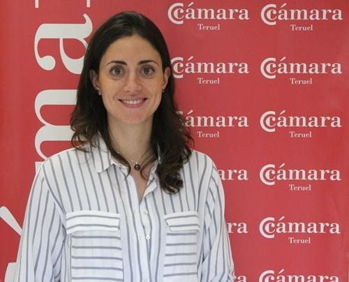 Ana Martinez, Directora de Formación de Cámara de Comercio de Teruel