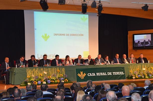 Caja rural de teruel obtiene un beneficio bruto de 6 2 for Caja rural de teruel oficinas