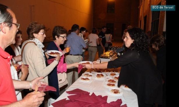 Imagen de la cena solidaria del año pasado