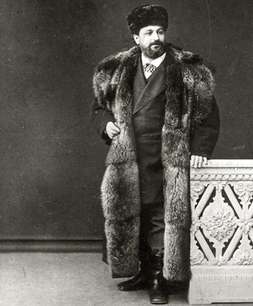 El tenor Marín falleció en Madrid un día como hoy del año 1896; en la foto, durante una actuación en Moscú.