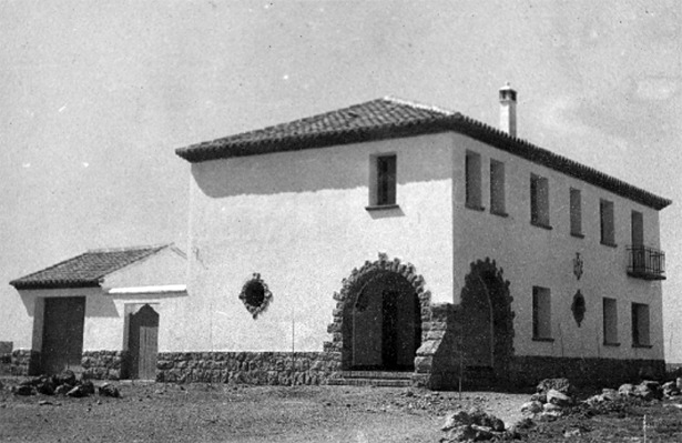 Entre las inauguraciones de 1971, estaba la casa del médico y Centro de Higiene Rural de Cucalón (Documentos y Archivos de Aragón).