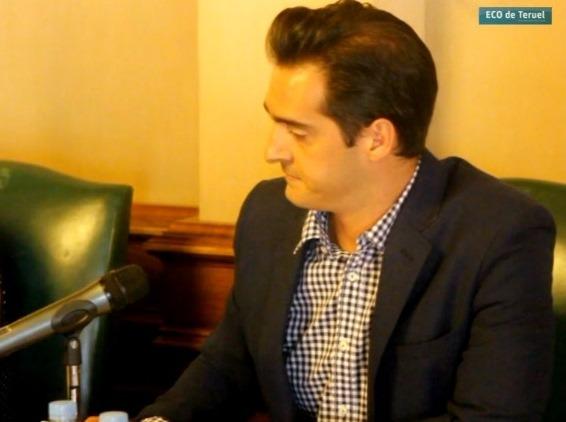En la imagen, Ramón Fuertes, portavoz de Ciudadanos en el ayuntamiento de Teruel