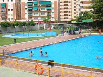 Una imagen de la piscina de San Fernando , en Teruel