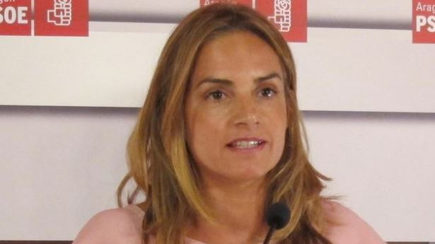 La secretaria de Administraciones Públicas del PSOE y diputada por Zaragoza, Susana Sumelzo,