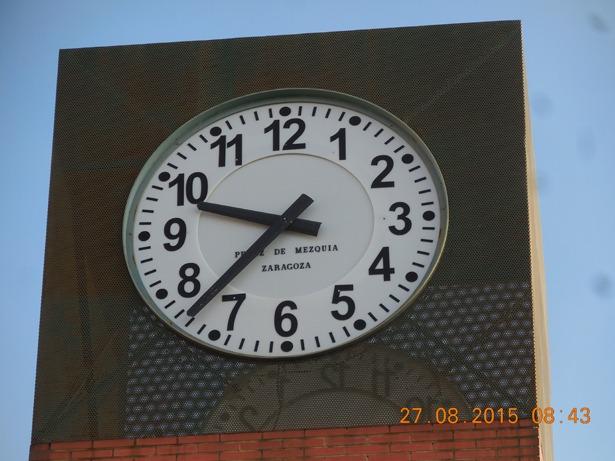 Reloj buses