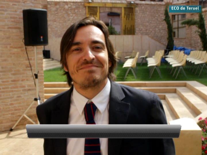 El flamante nuevo Director General de Cultura y Patrimonio, Nacho Escuín