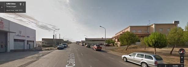 En la imagen de Google Maps, la calle Lisboa, donde se produjo la detención